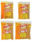Gold Medal Mega Pop Popcorn Kit Corn Oil & Salt 4 6 8 12 14 16 Ounce oz Kettles
