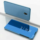 For Xiaomi Redmi 8 8A 7 7A 6A Luxury Smart Mirror Leather Flip Stand Case Cover