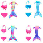 Kids Girls Mermaid Tail for Swimming Children Mermaid with Bikini Swimwear only