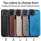For Iphone 11 Pro 6 7 8 Plus X Xs Max Shockproof Leather Card Slot Wallet Case