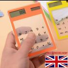 SCIENTIFIC TRANSPARENT CALCULATOR SCHOOL HOME OFFICE A LEVEL GCSE BTEC