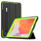For iPad 10.2 2019 7th Generation Magnetic Shockproof Stand Case with Pen Slot