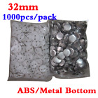1000pcs/pack 32mm Blank Pin Badge Button Supplies for Badge Maker Machine