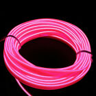 2/3/5M LED Car Interior Atmosphere Glow EL Wire Neon Strip Lights Rope Tube Lamp