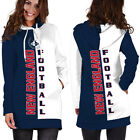 New England Hoodie Dress Lightweight Medium-XXXL Patriots Football Womens Gift $27.99 USD on eBay