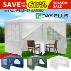 Gazebo Canopy Party MarqueesTent Shelter Shade Outdoor Backyard Patio 3X3M 4M 6M