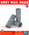 Strong Grey Mailing Post Mail Postal Bags 17X24