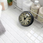 Mini Waterproof Wall Mounted Clock with Suction Cup for Bathroom Kitchen Use