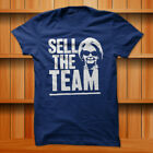Sell The Team Detroit Lions T-Shirt Blue 100% Cotton S-XL Size $21.0 USD on eBay