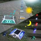 1/5/8Pcs Solar 6 LED Road Stud Driveway Lights Dock Path Step Safety Markers