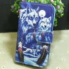 Cool Wolf Group Wallet Holder flip case cover for Various Smart Mobile phone for sale  Shipping to Nigeria