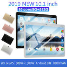 10 1 tablet pc hd android 8 0 8g 512g 10 core sim wifi dual camera phablet