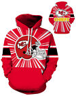Kansas City Chiefs Hoodie Lightweight Small-XXXL 2XL Unisex Men Women Football B $26.99 USD on eBay