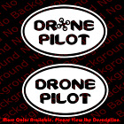 DRONE Direct Europe Oval Vinyl Die Cut Decal/DJI Phantom Quadcopter Parrot SP035