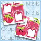 LOVE YOU BERRY MUCH Printed Premade Scrapbook Pages