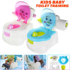 US 2In1 Kid Baby Toilet Trainer Child Toddler Potty Training Seat Chair  image