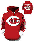Cincinnati Reds Hoodie Lightweight Small-XXXL 2XL Unisex Baseball Gift Cinci on Ebay