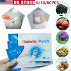 60x Best Natural Herb Diabetic Patch Reduce High Blood Sugar Plaster Health Care $7.41 USD on eBay