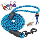 5FT Long Strong Dog Leash Climbing Rope Braided Threaded Pet Training w/ Handle