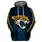 Jacksonville Jaguars Hoodie Small-XXXL 2XL Lightweight Unisex Men Women Football $26.99 USD on eBay