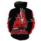 Tampa Bay Buccaneers Lightweight Hoodie Small-XXXL 2XL Unisex Football Bucs $26.99 USD on eBay