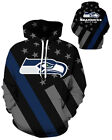 Seattle Seahawks Hoodie Lightweight Small-XXXL 2XL Unisex Men Women Football $26.99 USD on eBay