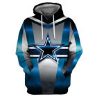 Dallas Cowboys Hoodie Lightweight Small-XXXL Unisex Football Texas Star FGS0231 $26.99 USD on eBay
