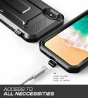 For iPhone XS / X SUPCASE UBPRO Rugged Shockproof Case Built-in Screen Protector