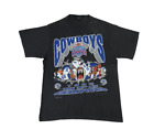 New! Dallas Cowboys Superbowl XXVII NFC Champions Looney Tunes T-shirt Men P703