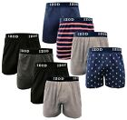 Kyпить IZOD Knit Cotton Men's Boxer Shorts 4 Pack Button Fly Underwear Tag Free на еВаy.соm