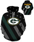 Green Bay Packers Hoodie Lightweight Small-XXXL 2XL Unisex Men Women Football $26.99 USD on eBay