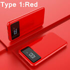 Ultra-thin Portable Power Bank External Battery Huge Capacity 900000mAh Charger