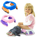 Portable Travel Potty Chair Foldable Baby Kids Toilet Safe Seat + 10 PP Bags image