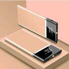 900000mAh Power Bank 2 USB Fast Charging External Battery Pack Portable Charger