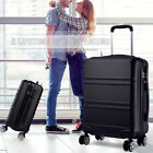 20 inch Hard Shell Cabin Suitcase 4 Wheel Luggage Spinner Lightweight Travel Bag