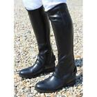 Mark Todd Childrens Kids Toddy Synthetic Stretch Half Chaps Black 6-12 Years