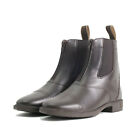 Mark Todd TODDY ZIP JODHPUR BOOT Short Leather Riding Adults Brown Black 4 - 11