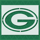 Green Bay Packers stencil - 14x11 - 11x8.5 - 6x4 - 4x3 - Reusable Mylar $12.46 USD on eBay