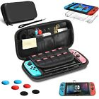 Nintendo Switch Accessories Bundle Essentials Pack-Case, Screen Protector, Grips