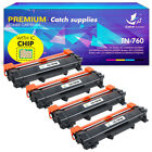 Toner Compatible for Brother TN760 TN730 Mfc-l2710dw Hl-l2730dw L2750dw L2350dw
