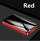 900000mAh Ultra-Thin Portable Power Bank 2 USB Pack Battery Charger For Phone US
