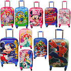 Children Kids Holiday Travel Hard Shell Suitcase Luggage Trolley Bag Mickey Bags