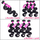 LONG-3-Bundles-or-with-Closure-Unprocessed-Brazilian-Virgin-Human-Hair-THICK
