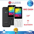 Imo Dash 3g Verve Connect Unlocked Free Sim Basic Big Button Mobile Phone - Uk