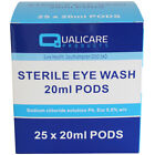 STEROWASH Sterile SALINE 20ml EYE WASH POD SOLUTION Hayfever First Aid Refill
