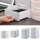 'Plastic Desk Drawer Storage Tower Unit Makeup Organizer Sewing Stationary Office