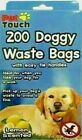 Dog Poo Bags Scented Doggy Bags Strong Large Tie Handles Pet Poop Waste Bag