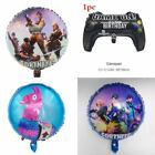 Fortnite Balloons Cake Cupcake Topper Party Supplies Backdrop Blanket