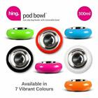 Small 300ml Feeder Dog Cat Pet Food Water Bowl Feeding Stainless Steel Bowls UK