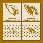 Arizona Cardinals stencil - 14x11 - 11x8.5 - 5x4 - Reusable Mylar - Template $12.69 USD on eBay